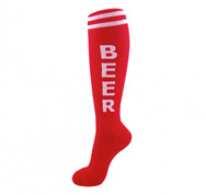 Red Beer Socks
